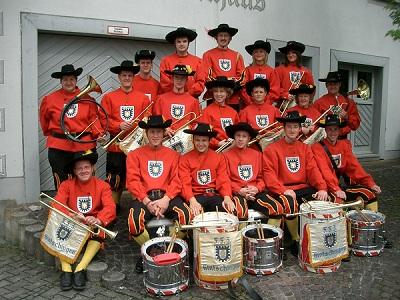 Gruppenfoto des Fanfarenzug